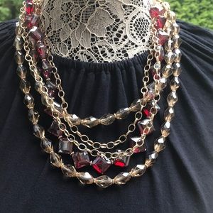 White House Black Market WHBL 2 in 1 Necklace